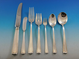 Marie Louise by Cartier Sterling Silver Flatware Set 12 Service 112 pcs - $13,500.00