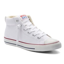 Adult Converse All Star Chuck Taylor Street Mid-Top Sneakers White Natur... - $52.95