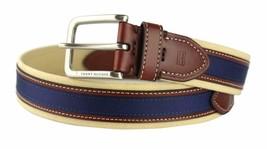 Tommy Hilfiger Men's Premium 35MM Canvas Leather Belt 11TL02X044 image 2