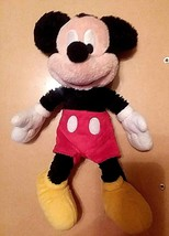 """VINTAGE DISNEY'S MICKEY MOUSE 1990's STUFFED/PLUSH TOY   11 1/2"""" HEIGHT - $8.91"""