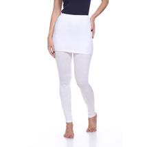 Skirted Leggings - White - $19.99