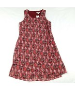 NEW Cato Shift Dress Size 10 Multi-Color Above Knee Geometric Lined MSRP... - $14.83