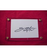 BRUCE SPRINGSTEEN Autographed Signed Signature Cut w/COA - 30735 - $75.00