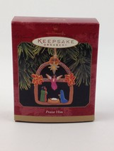Hallmark Keepsake Holiday Ornament Praise Him Christmas 1997 Original Box - $8.97