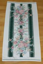 Croscill Granada Bath Hand Towel Floral Flower Cottage Cabin Rustic Rose... - $24.74
