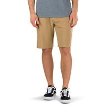 Vans AUTHENTIC Boys Youth Decksider Hybrid Shorts Size 26/12 Dirt NEW 2017 - $49.50