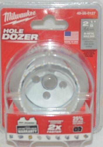 Milwaukee Hole Dozer 2 1/8 Inch Bi Metal Hole Saw Thermoset Coating