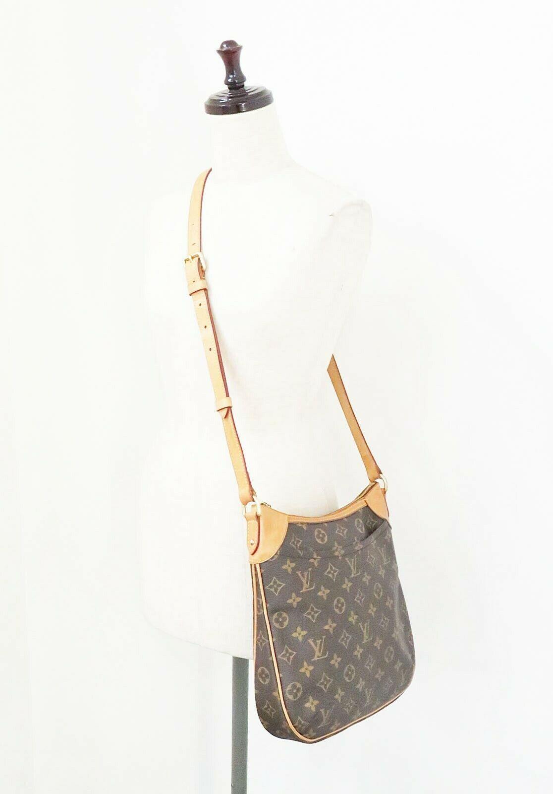 Authentic LOUIS VUITTON Odeon PM Monogram Shoulder Tote Bag Purse #32145 image 2