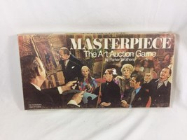 Vintage 1970 MASTERPIECE The Art Auction Board ... - $27.71