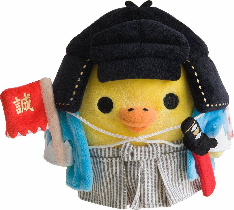 Rilakkuma Kiiroitori Samurai Bushi Shinsengumi Plush Doll Stuffed San-x New PSL - $60.97
