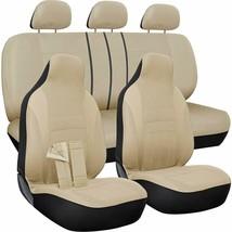 Funda De Asiento Del Coche Completo Universal Protector Acolchado Auto G... - $51.90