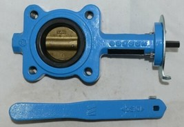 Watts Resilient Seated Butterfly Valve 2 1/2 Inch Lead Free 0525567 image 1