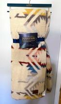 "Pendleton Fleece Sherpa Aztec Southwest Soft Throw Blanket 50"" x 70"" NEW - $69.99"