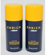 Enrich By Gillette All-In-One Beard & Face Moisturizer-3.3 FL. OZ. Each ... - $14.24
