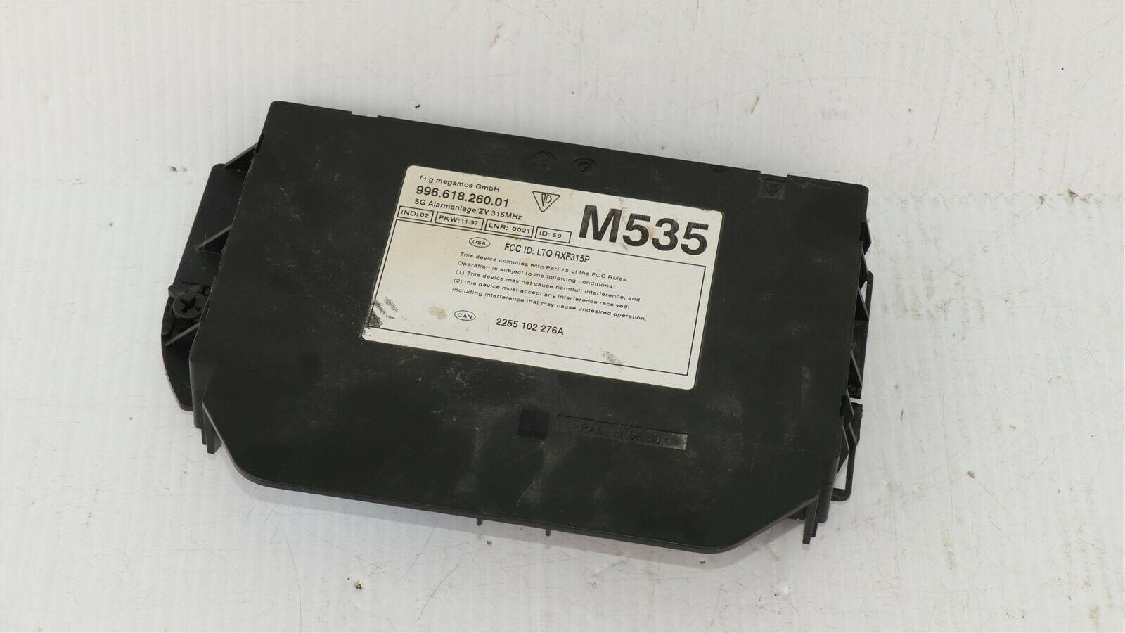 Porsche 986 Boxster Anti Theft Alarm Control Module Immobilizer 996.618.262.01