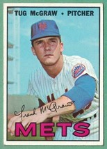 1967 Topps #348 Tug McGraw VG surface creases - $1.50