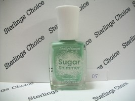Sally Hansen Sugar Shimmer Textured Nail Color Polish #05 Mint Tint - $5.82