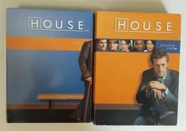 HOUSE MD (DVD) Season 1 (one) & 2 (two) Hugh Lourie FOX TV Series - $12.86