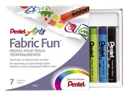 Pentel Fabric Fun Pastel Dye Sticks - $8.66