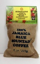 100 Percent Jamaica Blue Mountain Coffee Ridgelyne Roasted & Ground Organic 8 oz - $26.17