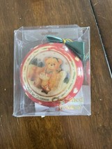 Cherished Teddies Christmas Ornament Baby's First Christmas Red 3 1/4 En... - $14.85