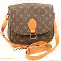 LOUIS VUITTON Monogram Saint Cloud GM Shoulder Bag M51242 LV Auth 7985 - $598.00