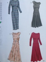 Vogue Sewing Pattern 8685 Misses Dress Size 14-20 New - $16.79