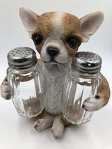 Chihuahua Puppy Salt & Pepper Shaker Set - $18.99