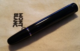 Replacement spare Part Pen Barrel Montblanc 145 Chopin Fountain Pen sil... - $92.38