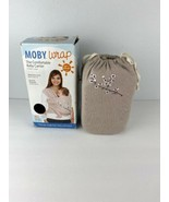Mody Wrap Womens Baby Carrier Sling Almond Blossom One Size 8-35 LBS - $98.99