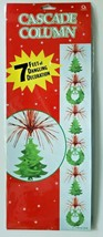 1990's Amscan Cascade Column Christmas Hanging Decoration New In Packaging - $14.99