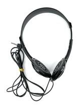 Vintage Sony MDR-026 Walkman Headphones Adjustable Band No Pads Black Working - $15.83
