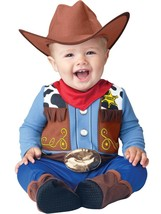 Incharacter Wee Wrangler Cowboy Infant Costume Halloween Cute Baby 16024 - £24.32 GBP