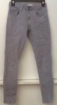 Forever 21 Light Gray Stretch Skinny Jeans Size 24 - $11.95