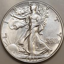 1937 P Walking Liberty Half Dollar - Choice BU / MS / UNC - $52.00