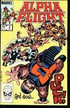 Alpha Flight #5-MARVEL COMICS-MUTANTS-JOHN Byrne Nm - $16.14