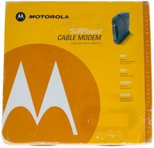 MOTOROLA Surfboard CABLE MODEM Model SB5100 In BOX Never Used FREE SHIPP... - $28.04