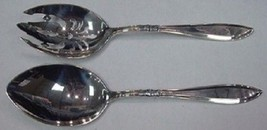 Portsmouth By Gorham Sterling Silver Salad Serving Set AS 2pc - $274.55