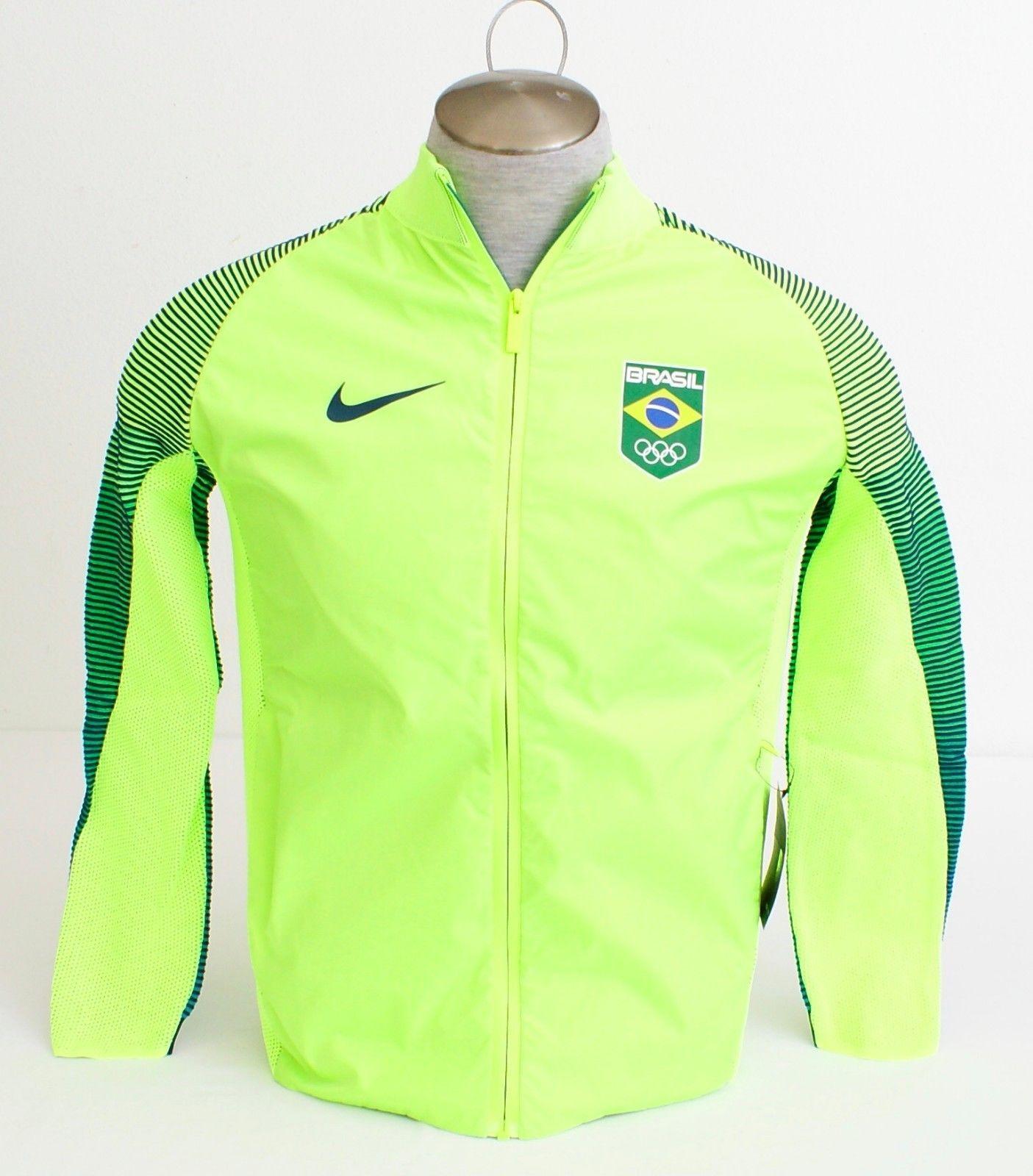4f611f43f8 57. 57. Previous. Nike NikeLab Volt Dynamic Reveal Team Brazil Rio Olympics 2016  Jacket Men s NWT