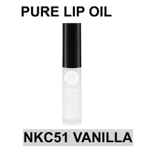 NICKA K NEW YORK PURE LIP OIL NKC51 VANILLA HYDRATING LIP WITH ARGAN JOJ... - $1.77