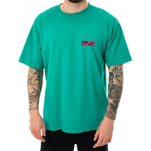 T-SHIRT UOMO OBEY INSIDE OUT HEAVYWEIGHT CLASSIC BO 166912181.JAD  Verde - $43.31