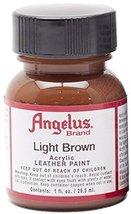 Angelus Acrylic Paints 1oz Color Light Brown - $6.76