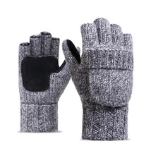 CUHAKCI New Knitted Mittens Gloves Unisex Winter Mittens Cashmere Gloves... - $22.32