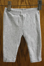 Child of Mine by Carter's Gray Pants - size girls 3-6 Months (12.5-16.5lb) - $8.99