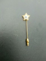 gold avon lapel or hat pin - $17.00