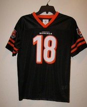 NFL Team Apparel Cincinnati Bengals AJ A.J. Green Youth XL (16/18) Jerse... - $11.40