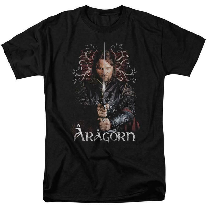 The Lord of the Rings Aragorn Ranger of the North graphic t-shirt LOR3004