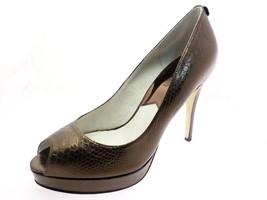 Michael Kors Yorks Womens PeepToe Platform Heel... - $48.95
