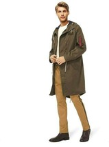 Michael Kors Men's Military Utility Parka Anorak Jacket Rain Coat Msrp 3... - $117.81
