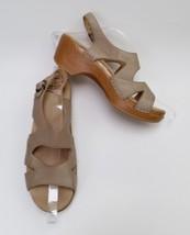 Dansko Shoes Sandals Beige Ankle Strap Womens Size US 8.5-9 EU 39 - $89.06